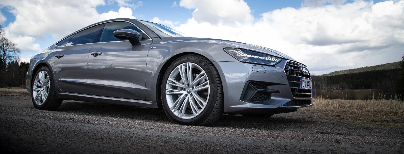 <b>GOD RESEPT:</b> Lav bil, lange linjer, store hjul.