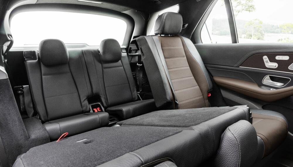 TRE SETERADER: Nye Mercedes GLE kan fås som syvseter.