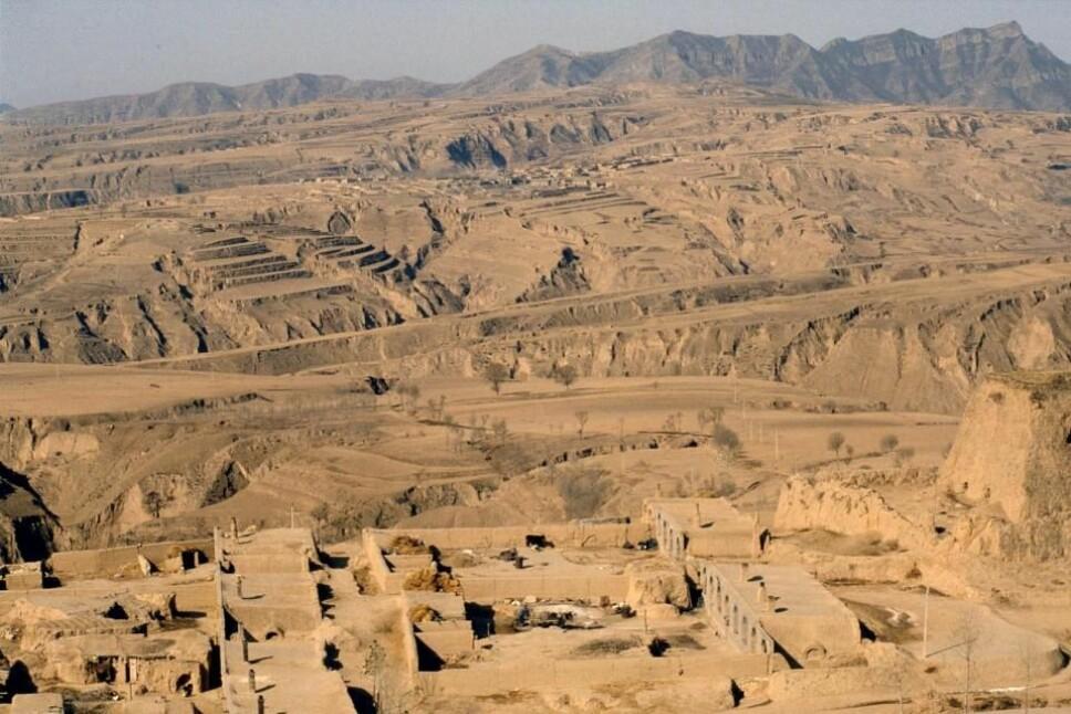 <b>SHIMAO: </b>En 4300 år gammel by i Kina skjuler en tidligere ukjent pyramide.