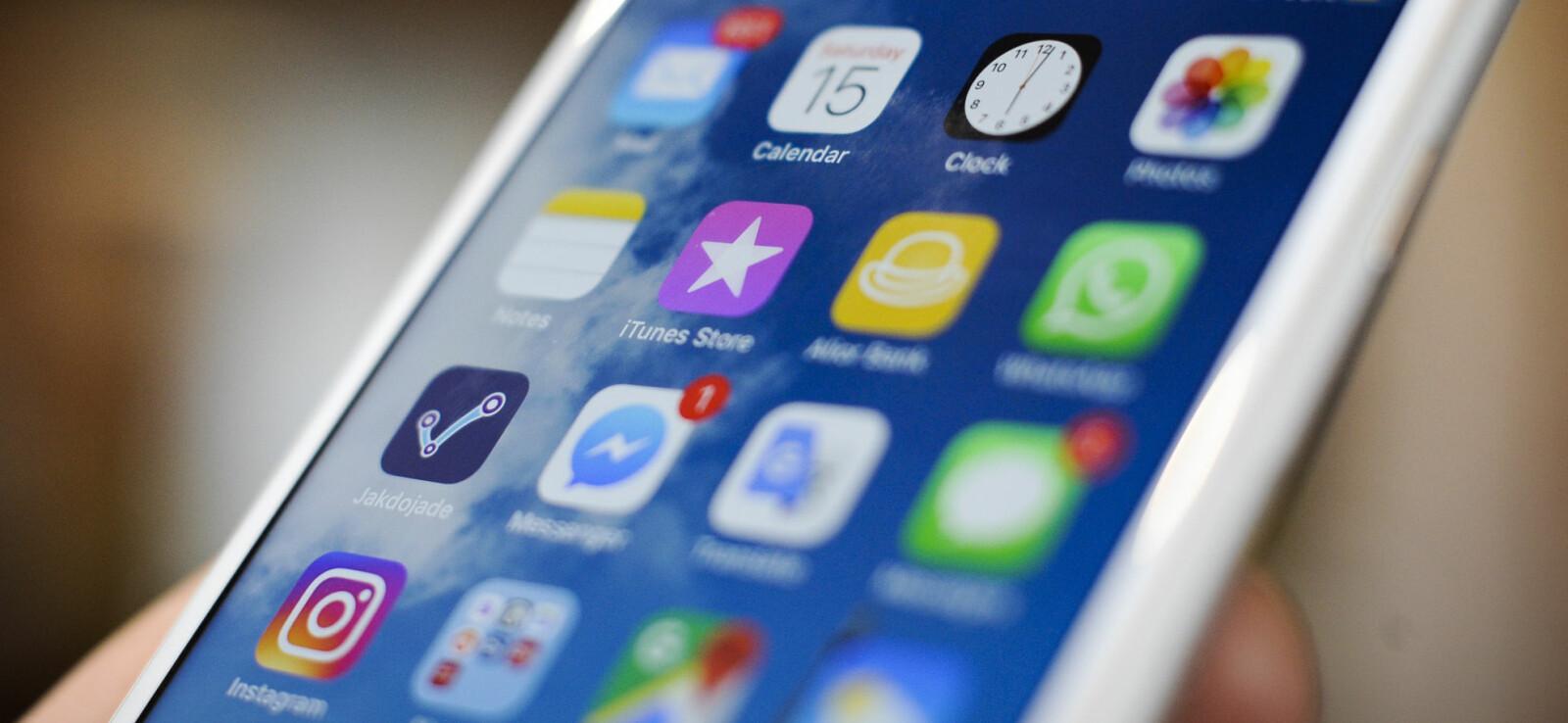 <b>IOS 12:</b> Den 17. september 2018 slippes iOS 12, Apples nye operativsystem til iPhone, iPad og iPod Touch. Bildet er en illustrasjon