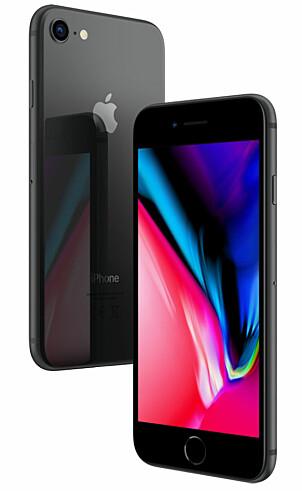 <b>IPHONE 8 64 GB: </b>Apples mobiler holder seg høyt i pris, men iPhone 8 har skilt seg ut. Den ble lansert i september 2017 til 7800 kroner. Bare noen måneder senere var prisen ned over 10 prosent under Black Week. Ett år etter er prisendringen på nærmere -13 prosent - til 6800 kroner.