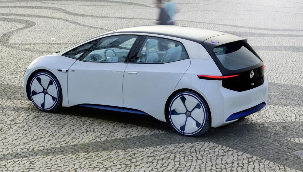 <b>KONSEPT: </b>Slik ser I.D. ut i konseptversjon, den produksjonsklare bilen har vært tro mot utgangspunktet.