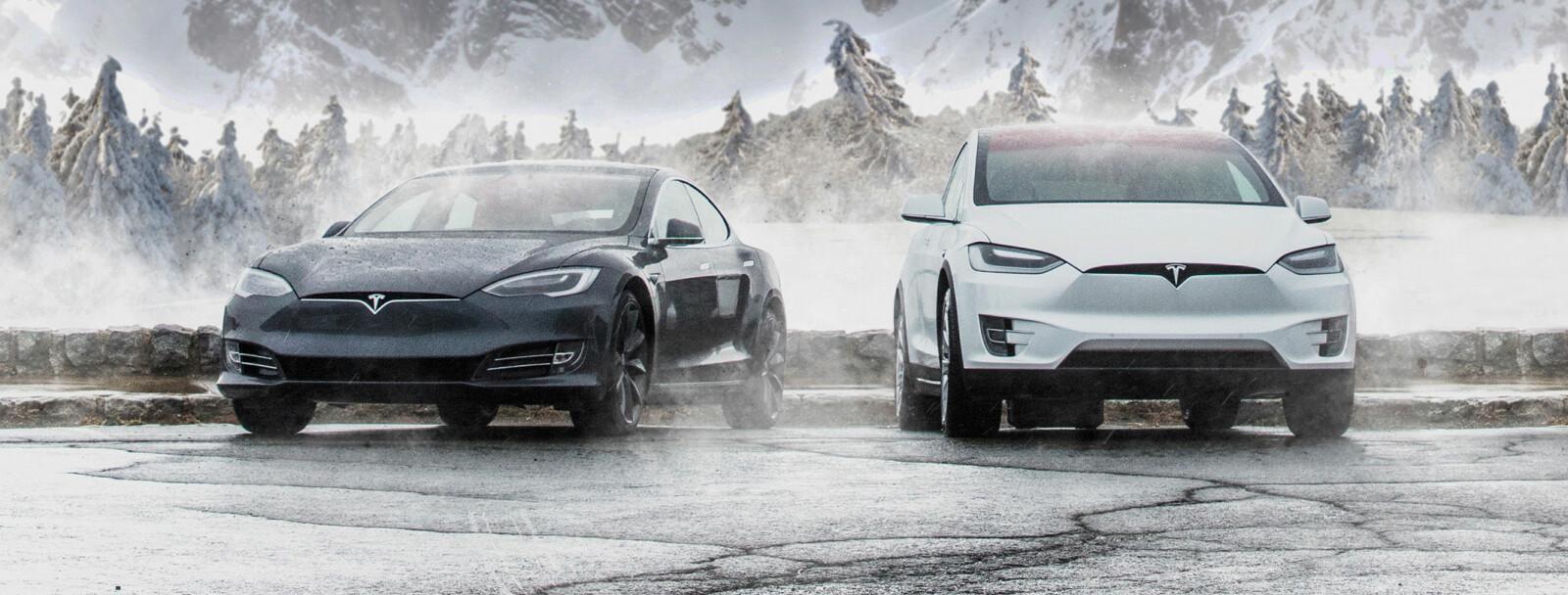 <b>POPULÆRE ELBILER</b>: Litt over 2000 av de 4802 nyregistrerte elbilene i september var en Tesla. Model X er mest populær.