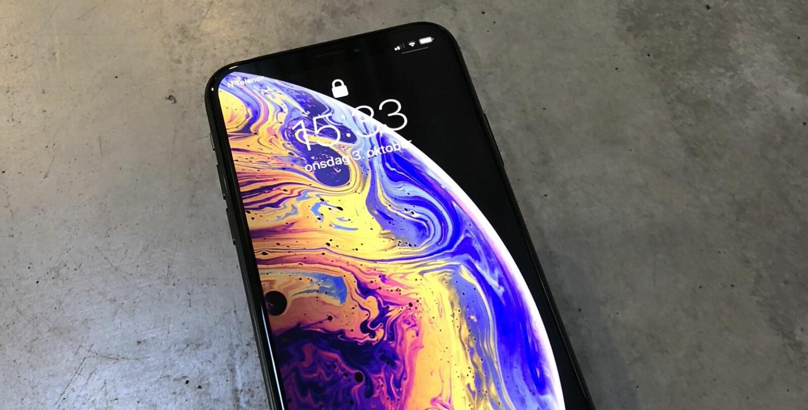 <b>TEST AV IPHONE XS:</b> Etter en uke med iPhone Xs i daglig bruk, er det først og fremst én ting som skiller seg ut. Og det er klart at det innsiden som teller.
