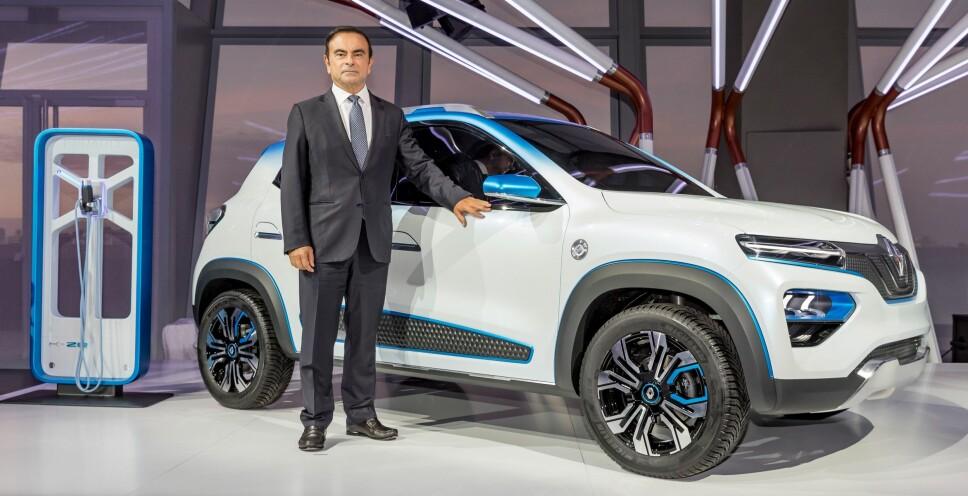 <b>MINI-EL-SUV: </b>Renault har nylig vist frem en helt ny el-crossover på bilutstillingen i Paris.