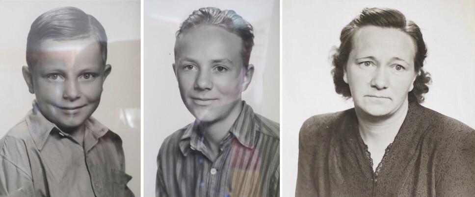 <b>OMKOMNE: </b>(f.v.) Arnhilds lillebror, Erling, mistet livet i «Thalassa»-tragedien. Skjalg Karlsen, Arnhilds storebror, ble bare 14 år gammel. Svanhild Karlsen like før avreise i 1948. Hun var opprinnelig fra Sør-Varanger.