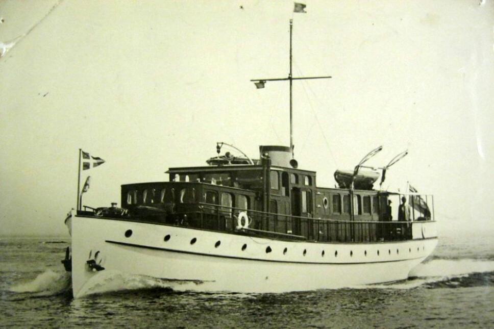 <b>SKJEBNESKIPET: </b>«Thalassa» var en canadisk bygd yacht på 100 fot, omgjort til frakteskip og møtt med sterk skepsis av den norske skipskontrollen ved gjennomgang. Ingen selskaper våget å forsikre skipet.