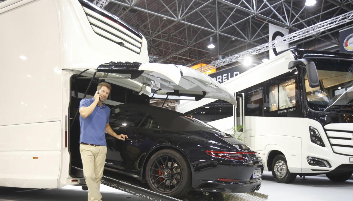 RETT INN: Med Morelo Palace-modellen kan du ta med deg din 911 Carrera 4 GTS på tur.