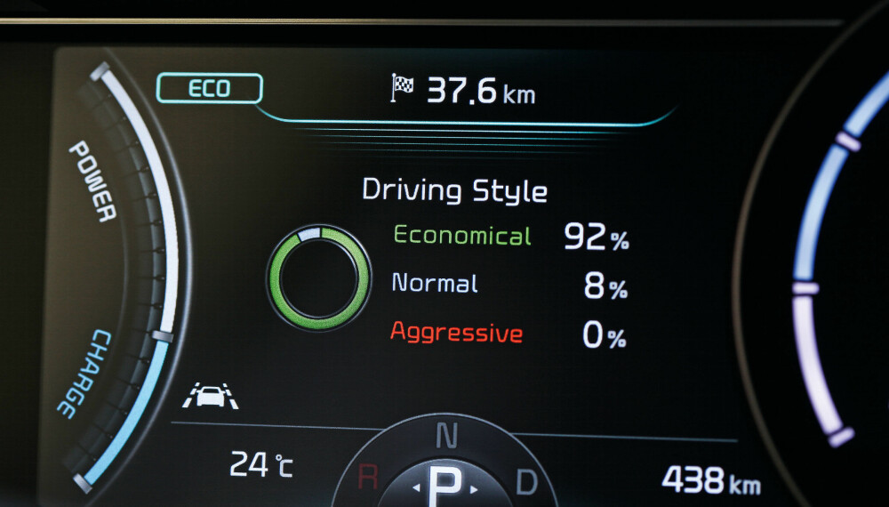 <b>KRAFT OG MODERASJON:</b>  204 hk og 395 Nm gir krefter i massevis. Om du bruker dem moderat, vil kjørecomputeren skryte av deg.