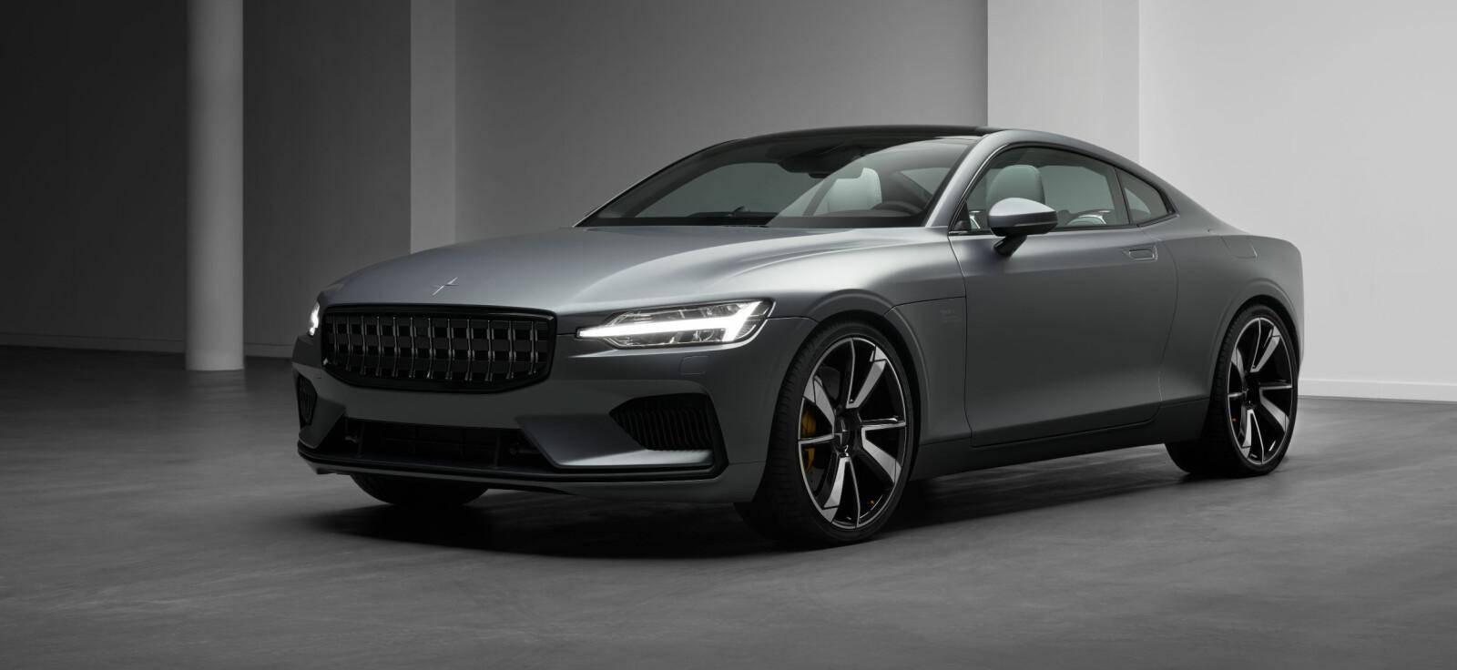 01 er første modell ut fra Polestar, Volvos helelektriske undermerke.