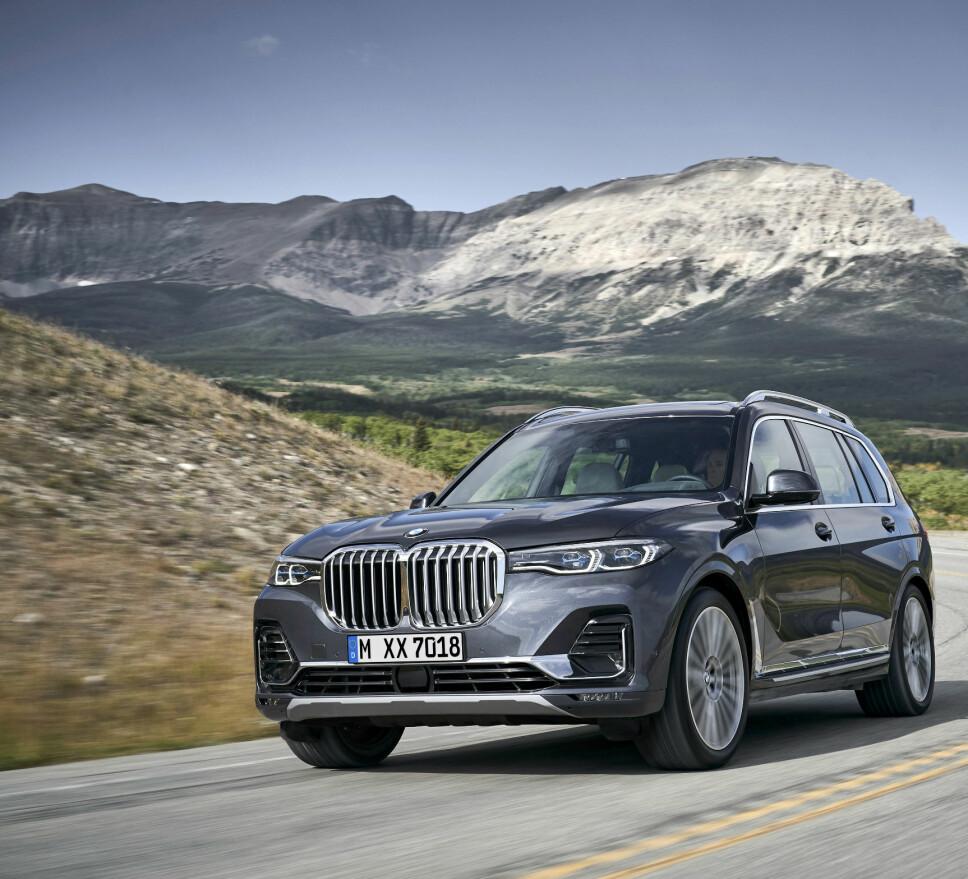 X7: Dette er BMW X7.