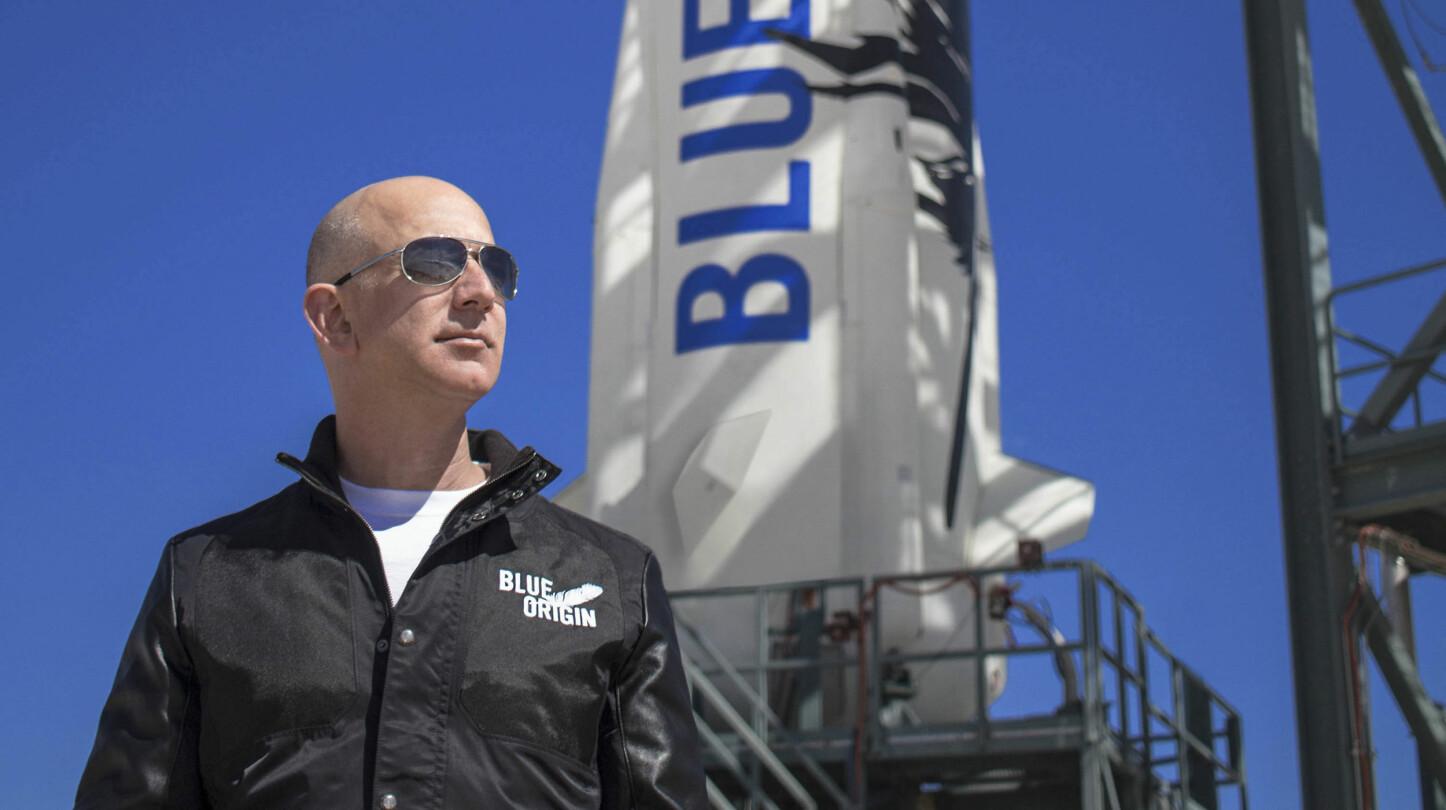 <b>VERDENS RIKESTE MANN: </b>Jeff Bezos har brukt store summer av den enorme Amazon-formuen sin til å utvikle ny teknologi for romfart gjennom selskapet Blue Origin.
