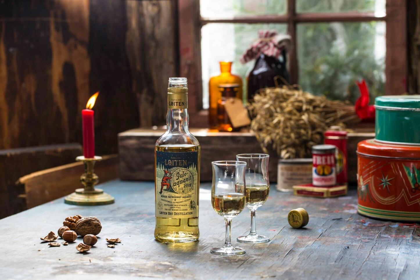 <b>EKSKLUSIV AKEVITT:</b> I 2018 kommer Løiten med sin aller første juleakevitt. Det blir en eksklusiv affære med kun 7000 flasker tilgjengelig på norske Pol.