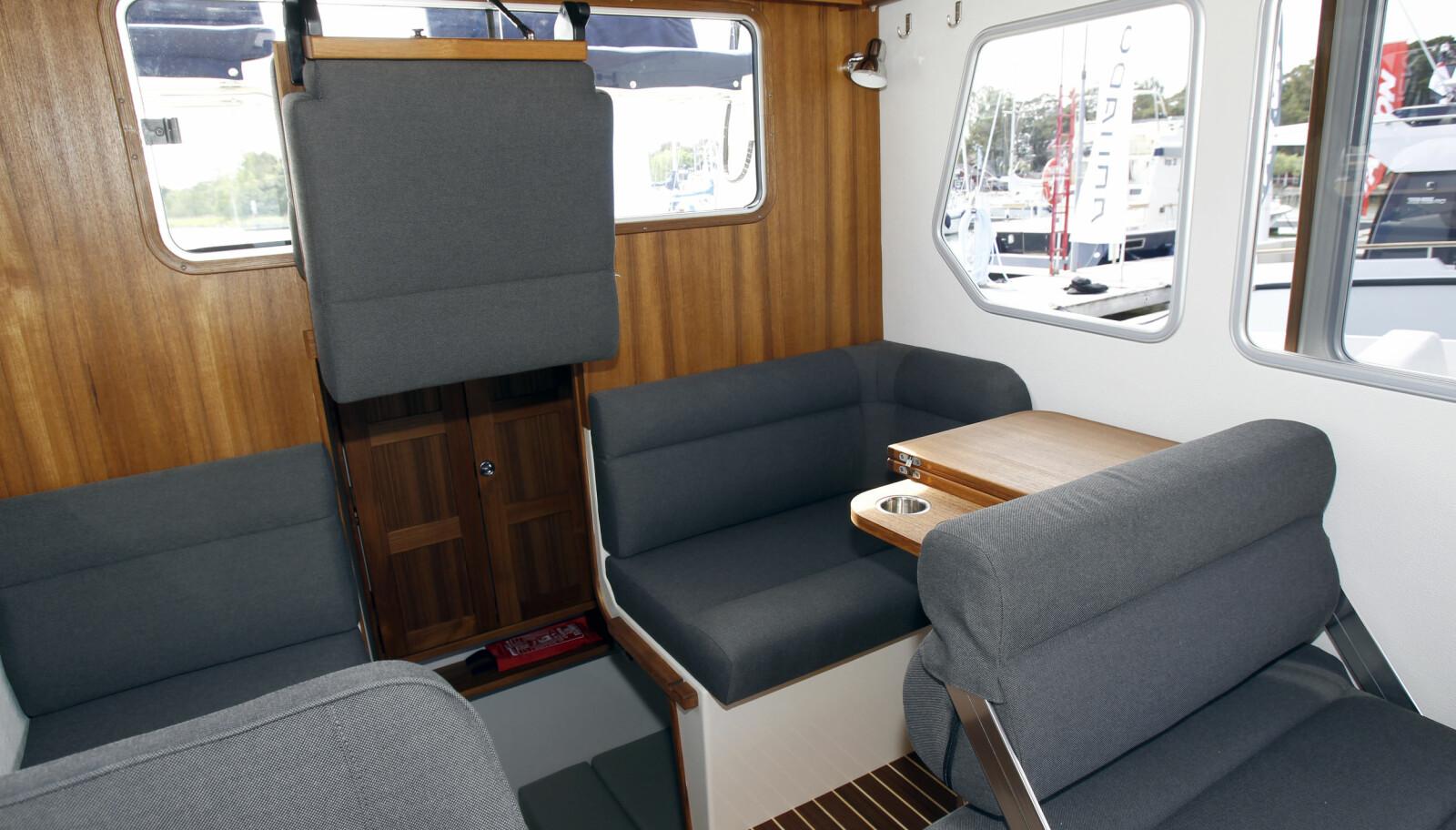ENDRINGER: Dobbeltsete på babord og bord i skrogside er nytt i Targa 27.2.