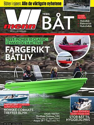 BLI ABONNENT: Artikkelen er publisert i samarbeid med Vi Menn Båt. Les alt magasinet har publisert på vimennpluss.no