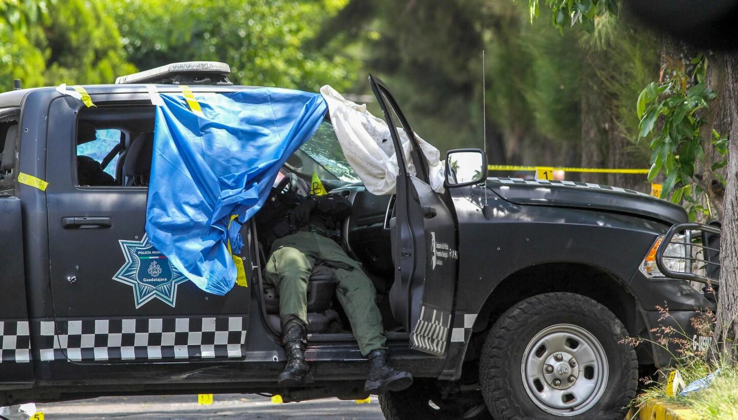 <b>BRUTAL KRIG:</b> Jalisco-kartellet under ledelse av «El Mencho» går ikke av veien for å drepe politi og sikkerhetsstyrker.