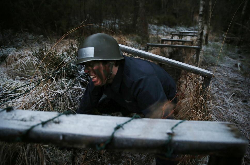 <b>TØFF TRENING:</b> Veien til å bli marinejeger innebærer en av Norges hardeste militære utdanninger.