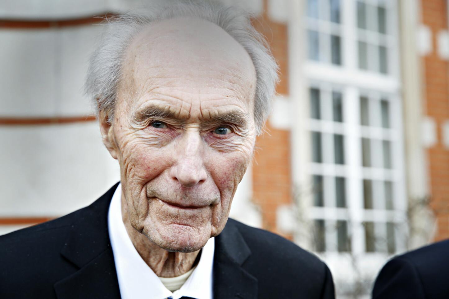 <b>TUNGTVANNS-LEDER:</b> JOachim Rønneberg ledet aksjonen mot tungtvannsanlegget på Vemork i Rjukan under andre verdenskrig. Rønneberg sovnet stille inn 21. oktober 2018, 99 år gammel.