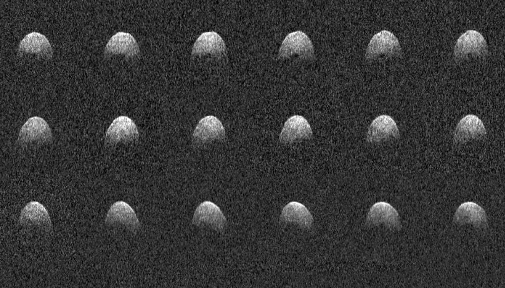 Romfartsorganisasjonen NASA har fanget Phaethon på radar.