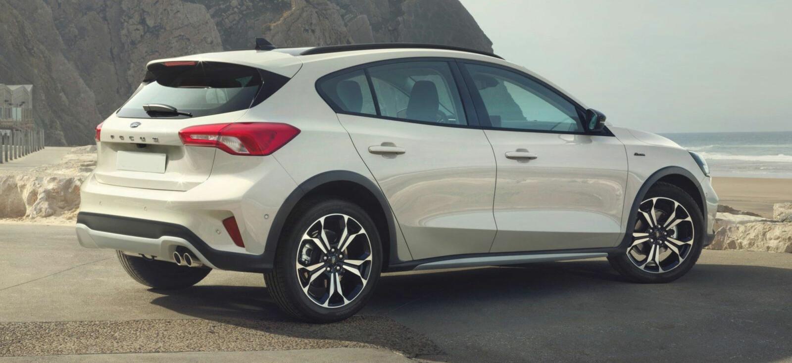 Ny utgave av Ford Focus kommer til Norge rundt årsskiftet. Focus Active starter på under 300.000 kroner.