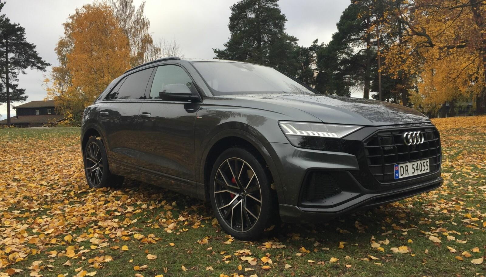 Test Audi Q8 2018 Motor