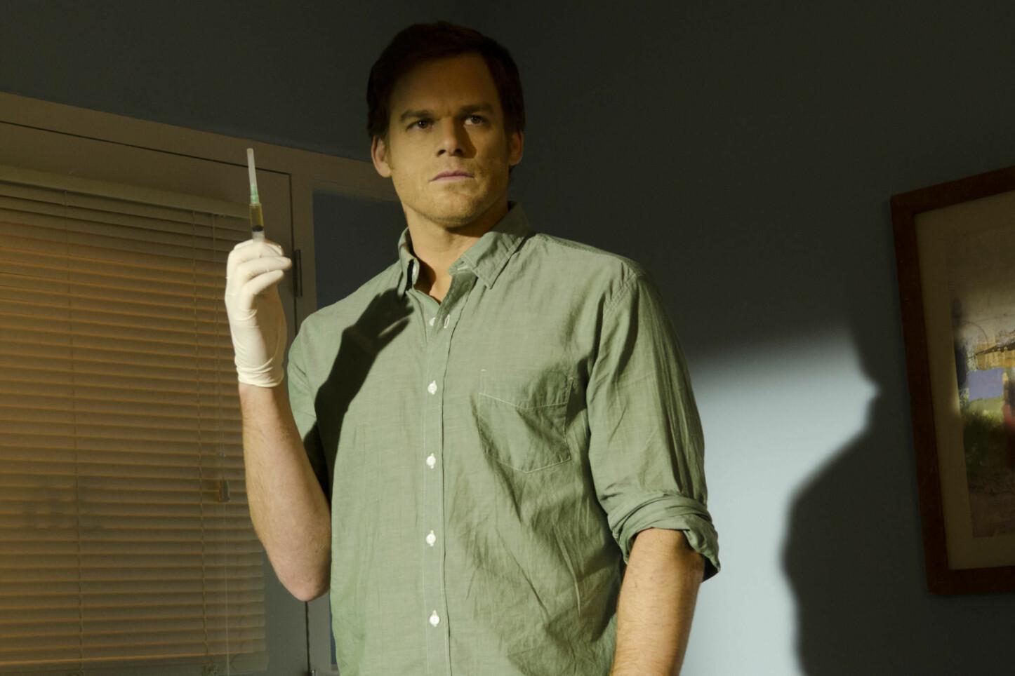 <b>ÅPEN FOR RETUR:</b> Michael C. Hall spilte seriemorderen Dexter Morgen i åtte sesonger. Han sier han er åpen for å returnere til rollen.