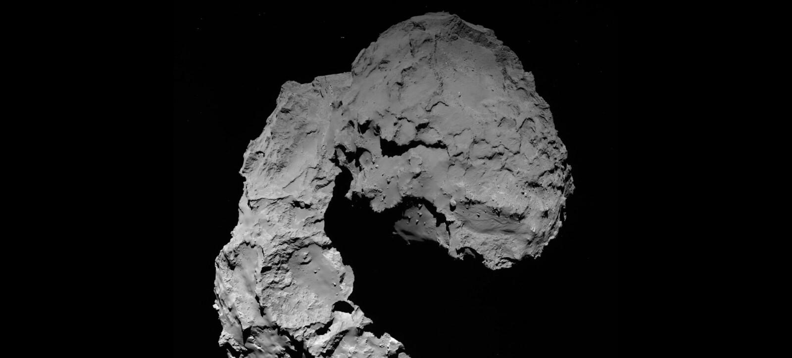 <b>DØDBRINGER:</b> Astrofysikere er sikre på at jorden på et eller annet tidspunkt kan bli truffet av en stor asteroide minst like stor som den som utryddet dinosaurene. Bildet viser kometen 67P/Churyumov-Gerasimenko.