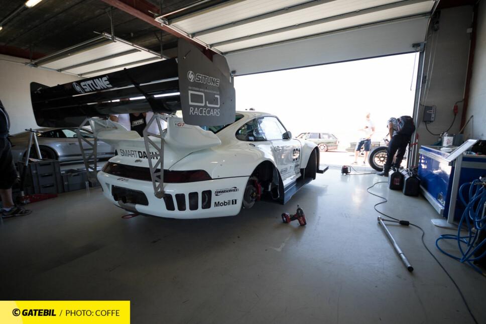 Før brannen så den ekstreme Porschen slik ut ...