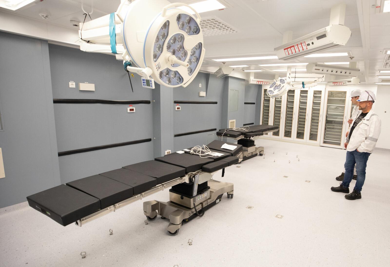 SYKEHUS: Maud er utstyrt med topp moderne utstyr for kirurgi.
