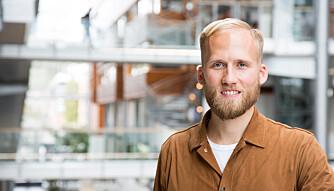 SHOPPE-APP: Christian Birch er adm. direktør i ShopGun, en app som opplever stor popularitet i forbindelse med Black Friday.