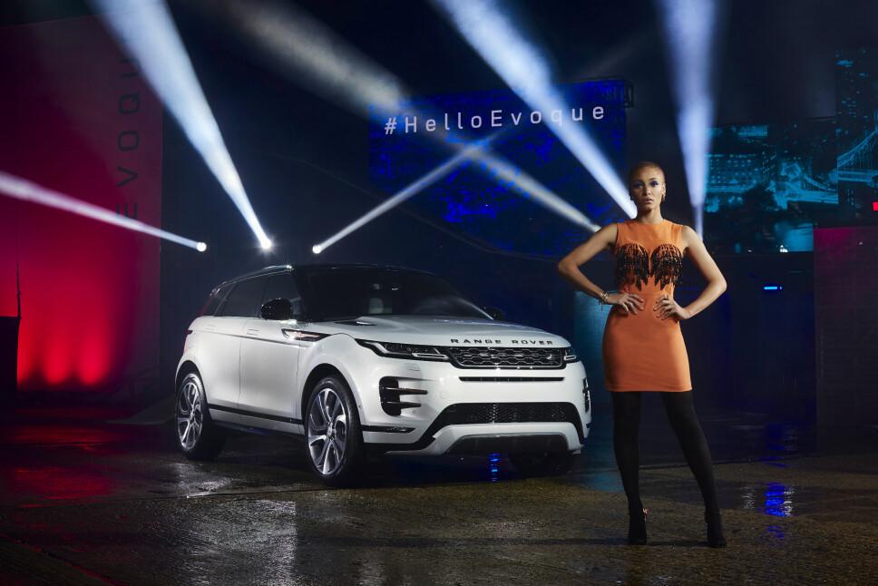 Evoque blir en svært viktig bil for Range Rover. Her er den akkurat avduket.