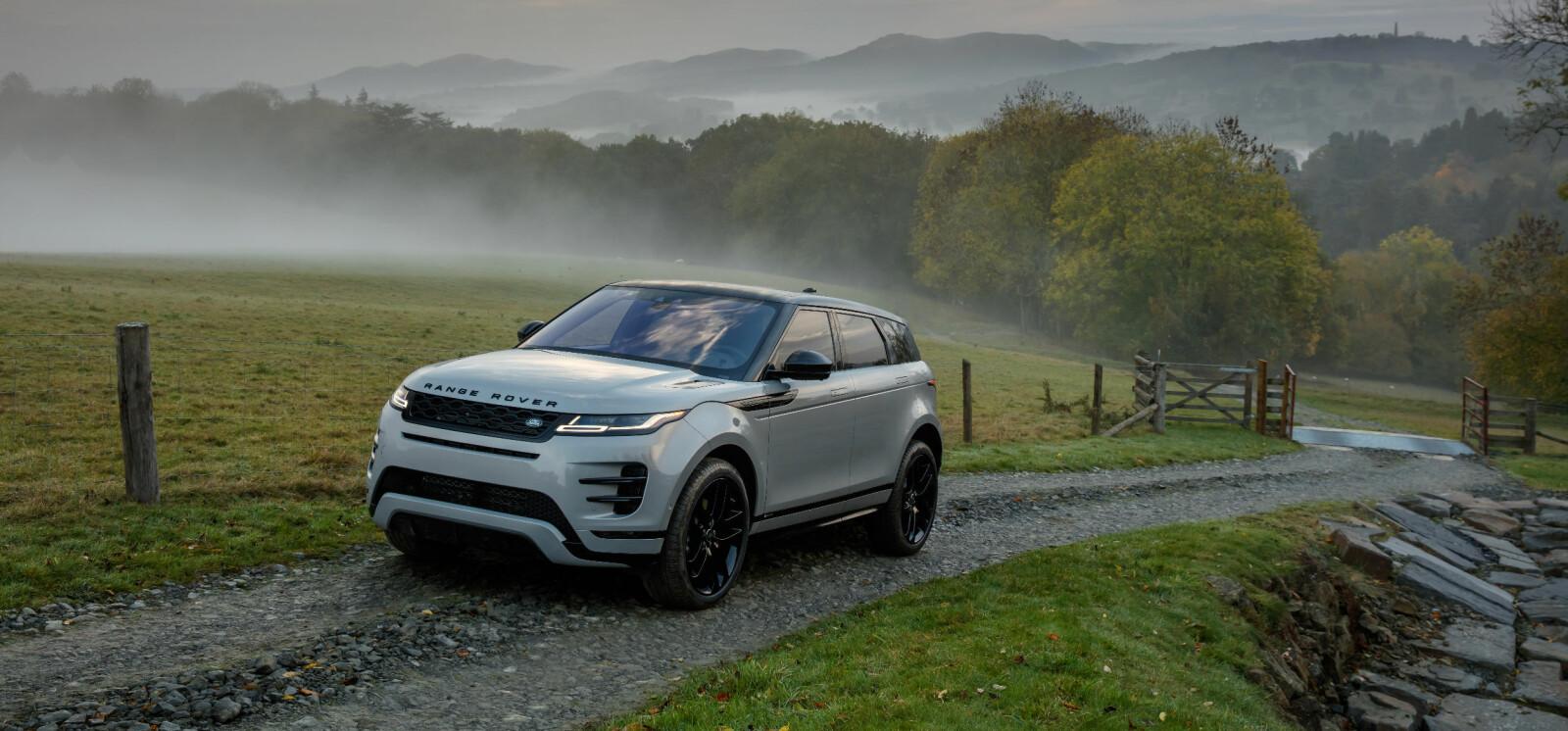 Fronten har fått flere elementer vi kjenner fra storebror Velar. Det er neppe noe dumt grep av Range Rover.
