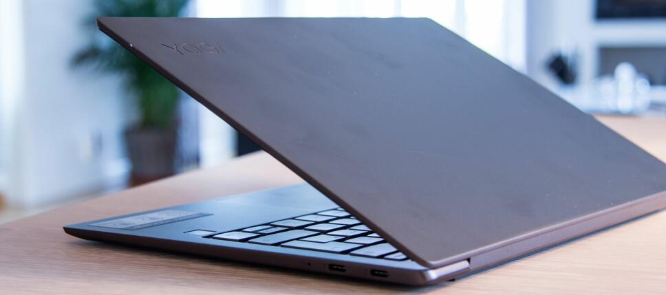 <b>SOLID:</b> Lenovo Yoga S730 er en lett, liten og solid bærbar PC.