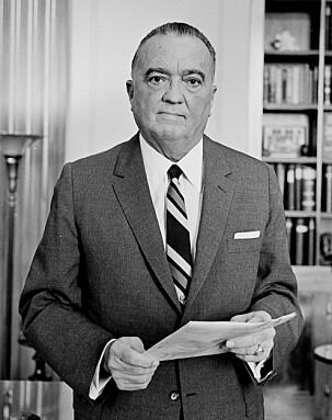 <b>HOOVER: </b>FBI-sjef J. Edgar Hoover ble koplet inn i saken.