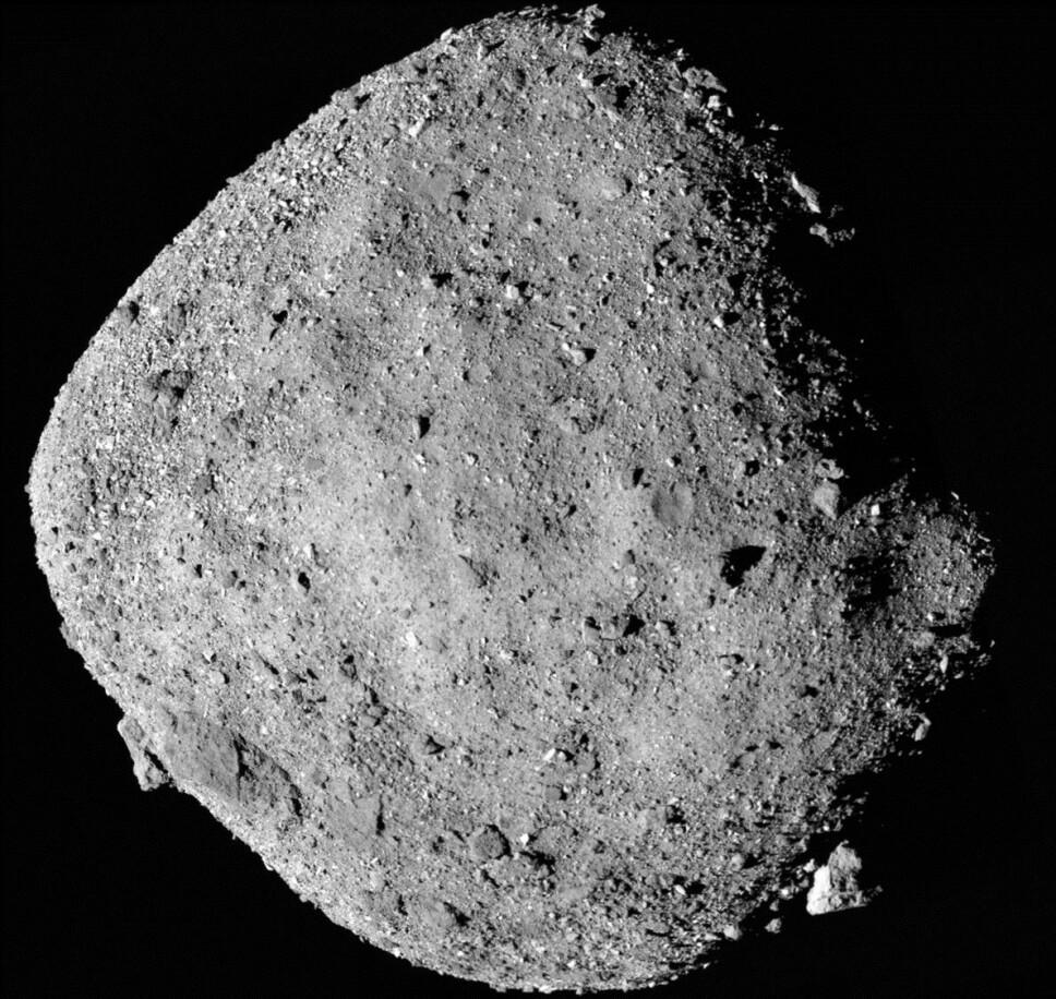 <b>BENNU</b>: Romfartsorganisasjonen NASA har nådd fram til asteroiden Bennu, en kjempestein på 78 millioner tonn som farer gjennom rommet i en hastighet på 100.000 km/t.