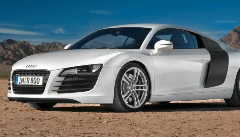 LEKKER: Ta en titt på bildet. Ville ikke en slik bil gjort seg utenfor huset ditt?