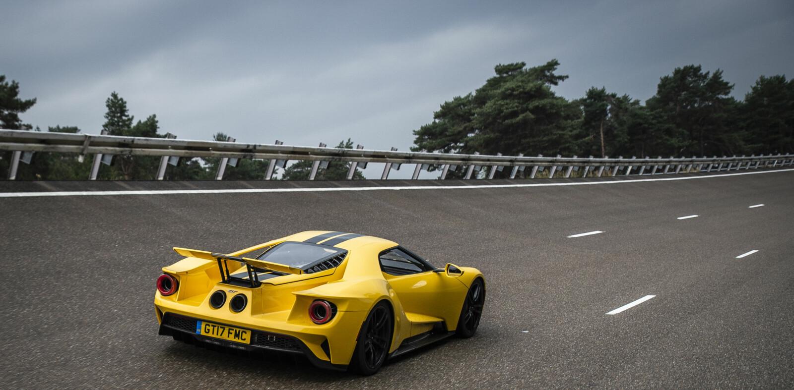 <b>KREVENDE:</b> GT er ingen liten bil. Den er 478 cm lang og like over to meter bred.