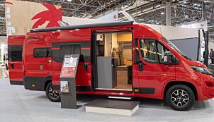 <b>ALT AV UTSTYR</b>: En utstyrsrik spesialversjon av Cliff 640, i rødfargen «Tiziano».
