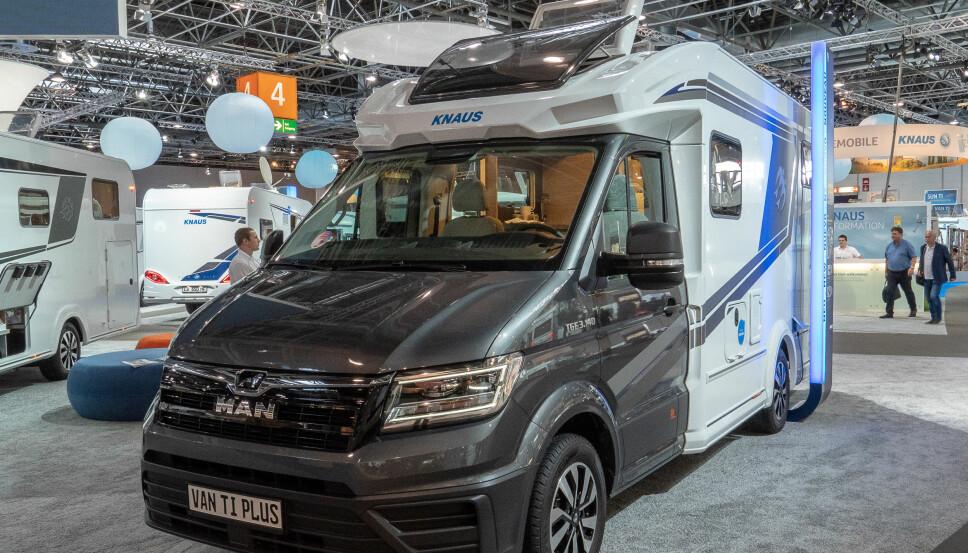 <b>MAN</b>: Denne kan også fås med bakhjulsdrift og 4WD