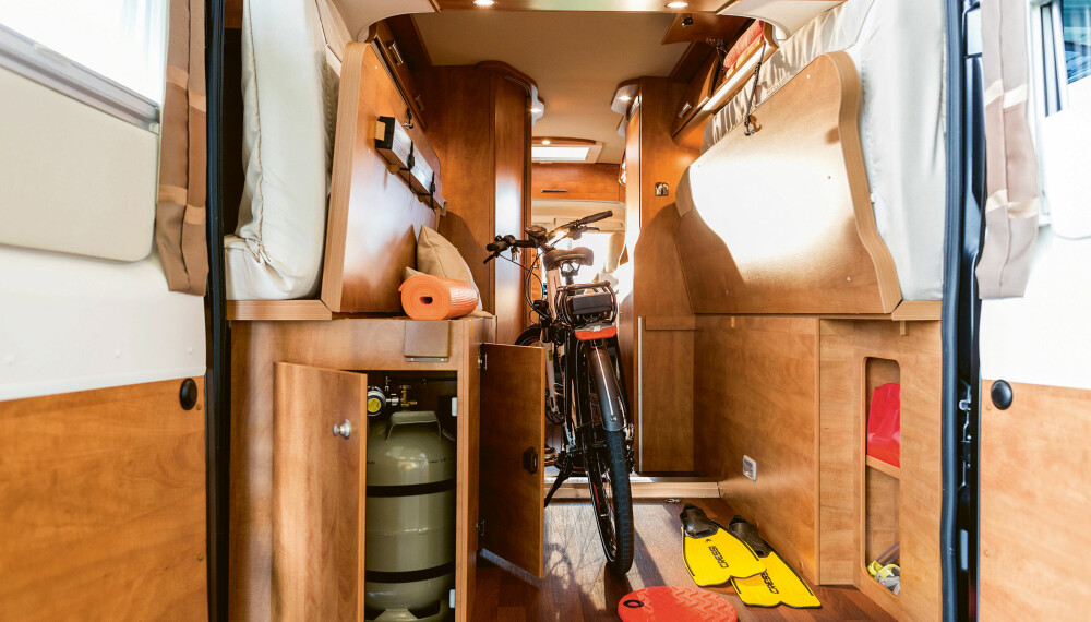 MER PLASS: 2019-modellene til Van Charming-serien får et åpnere lasterom huten hindringer.