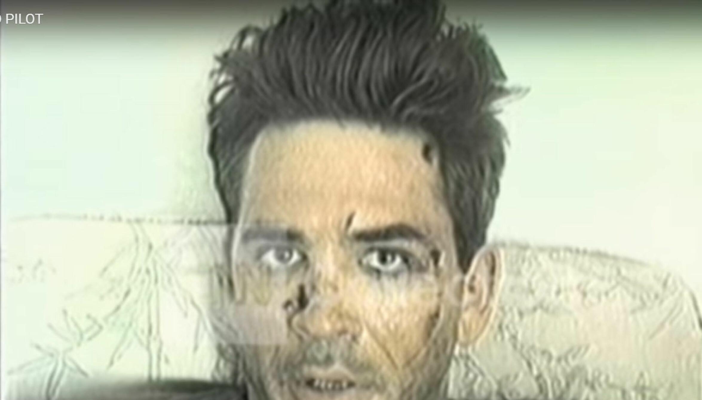 <b>FANGET:</b> På dag to i fangenskapet ble det spilt inn en video som viste en plaget og hardt skadd Michael Durant.