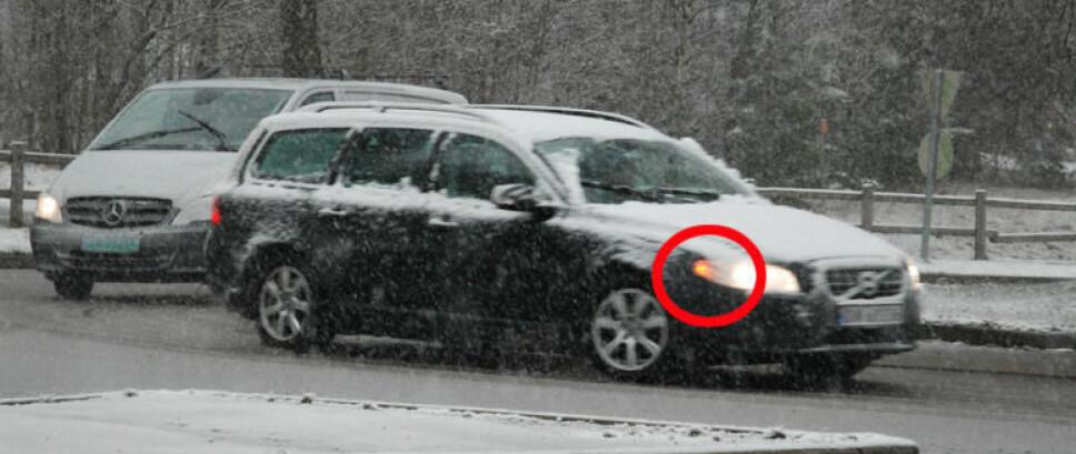 <b>BLINKLYS</b>: Manglende bruk av blinklys topper oversikten på hva vi irriterer oss mest over i trafikken. Og dette er ikke bare irriterende, det kan også skape mange farlige situasjoner.