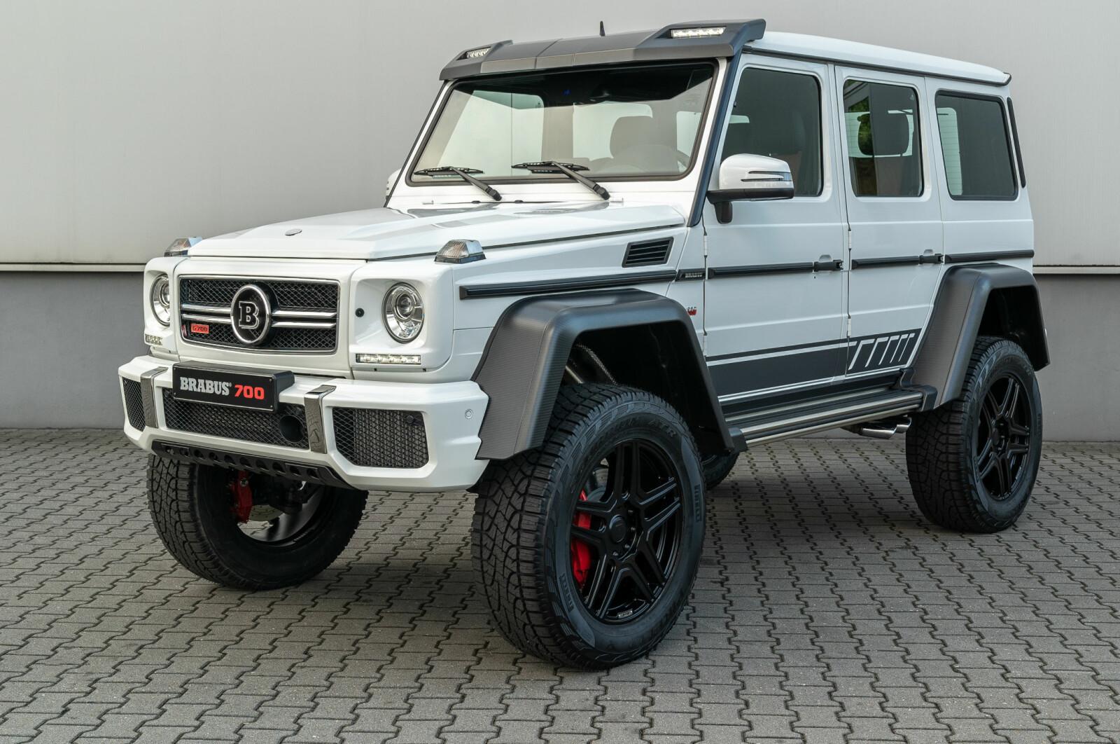 BASERT PÅ MERCEDES: G700 HK: Brabus-en minner veldig om Mercedes-AMG G500 4x4² , men skal være basert på G63.