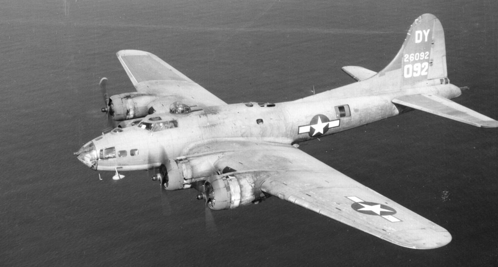 """<b>FLYGENDE FESTNING:</b> Egtvedt er kanskje mest kjent for å stå bak """"The Flying Fortress"""", som fikk en avgjørende rolle under den andre verdenskrig."""