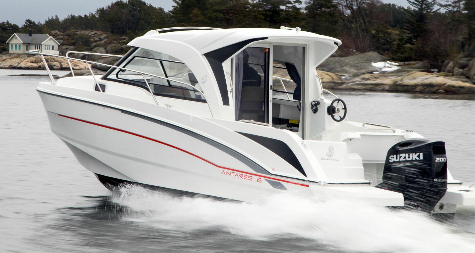 <b>TAR STEG: </b>De innlukkede båtene får mer allsidige egenskaper og ser bedre ut enn tidligere