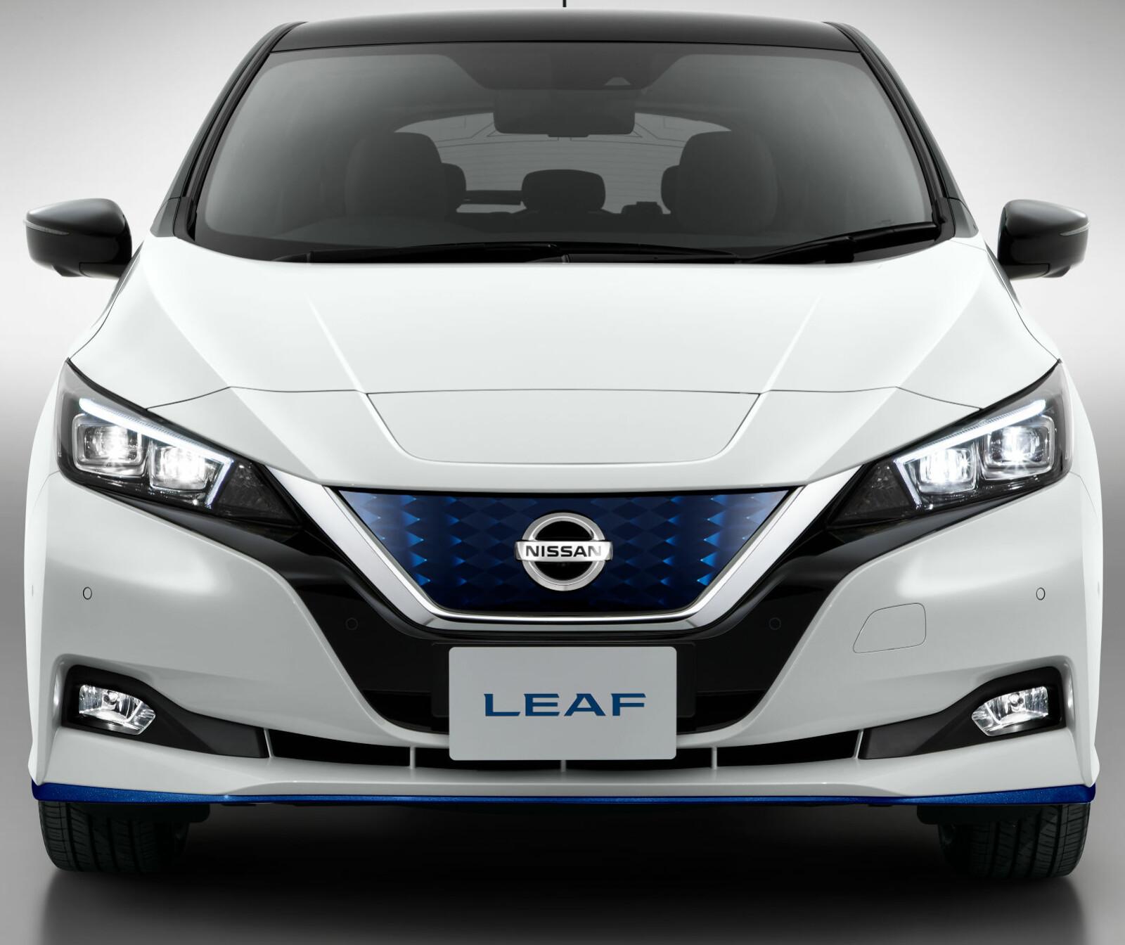 2019 NISSEN E+: Nye Nissan Leaf e+ får større batteri og lenger rekkevidde.