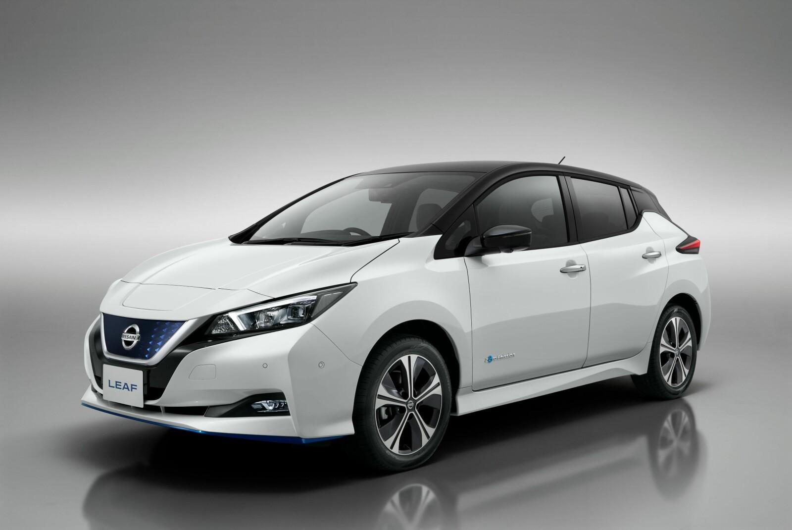 SPESIALVERSJON: I første omgang kommer 62 kWt-versjonen i kun 5000 eksemplarer. Nissan mener de kan raskt kan forsyne markedet med flere biler dersom etterspørselen er der.