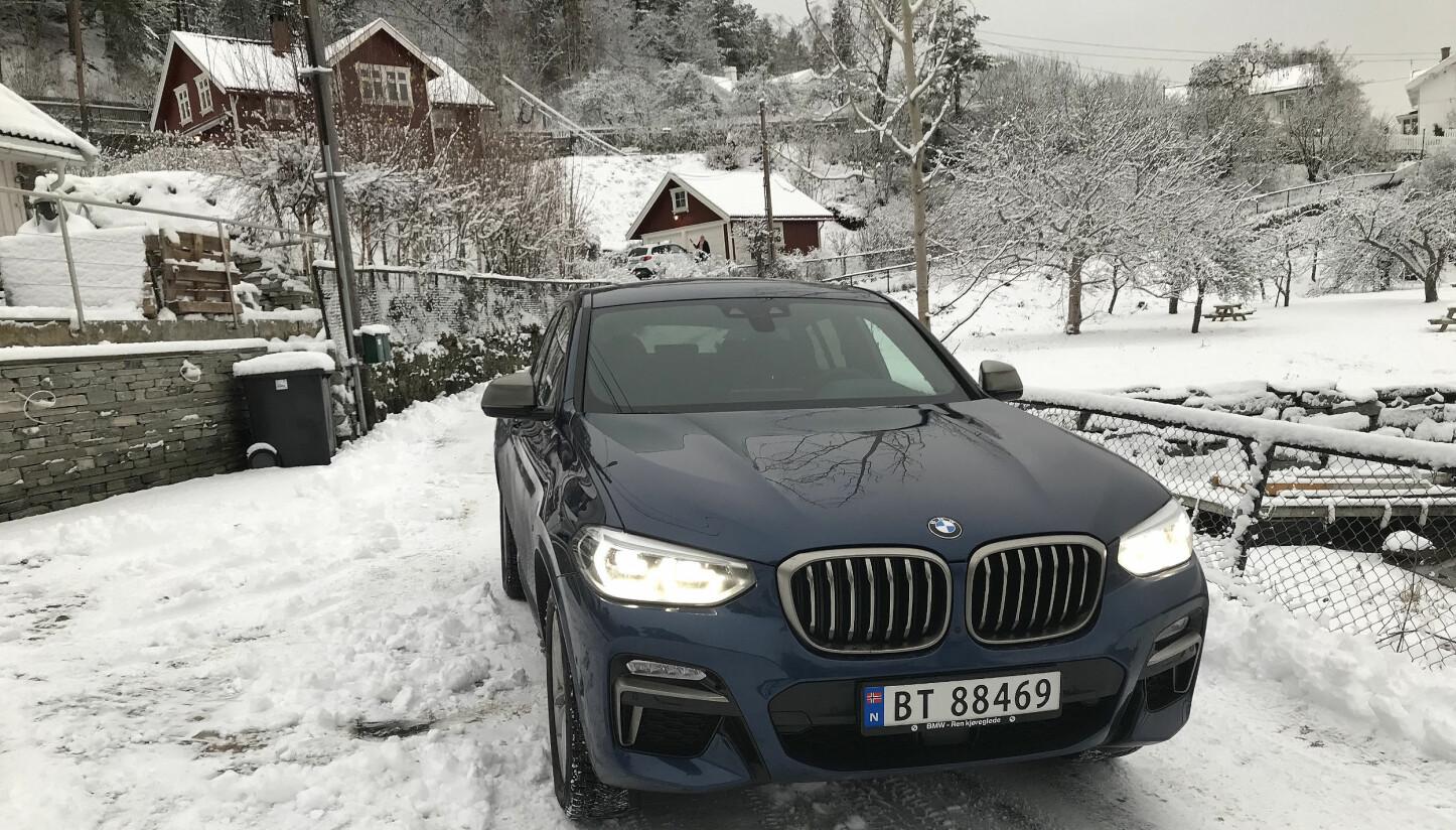 PRØVEKJØRT: BMW X4 M40d.