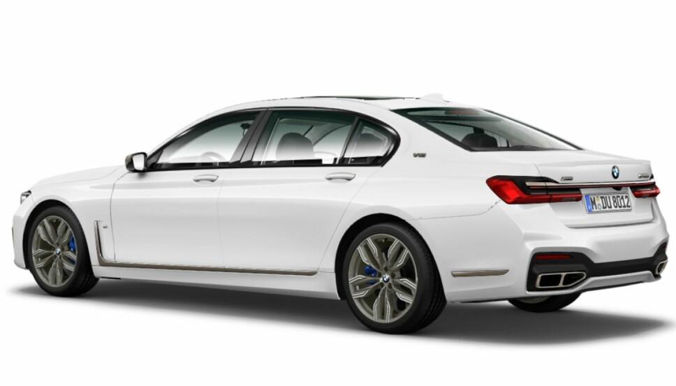 FACELIFT: Nye BMW M760Li.