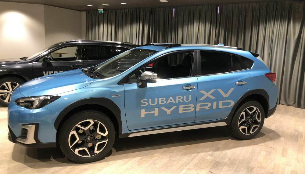 HYBRID: Subaru XV Hybrid er klar for Norge.